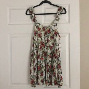 NWT!!! FREE PEOPLE FLORAL DRESS